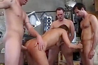 Horny Amateur video with Doggy Style, Gangbang scenes