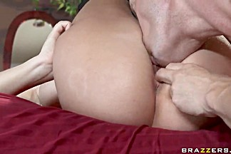 The calm before the storm in Johnny Sins' penis