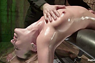 Dana DeArmond in Resistance Is Futile.... Dana Gives Into Her Lust And Aching Asshole - HogTied