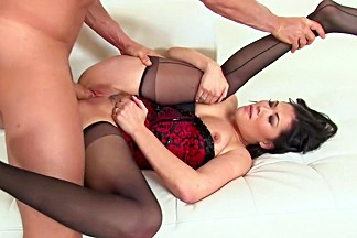 Best pornstar London Keyes in incredible cunnilingus, facial porn movie