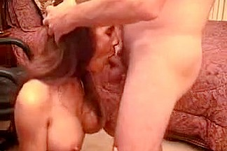 Wild Hot Wife Sucks Cock