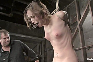 Amber Rayne in Encore Of Amber Raynes April 6th Live Show - HogTied