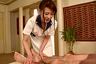 Horny Japanese girl Chisato Shouda, Yuka Honjo, Eriko Miura in Exotic handjobs, cumshots JAV video
