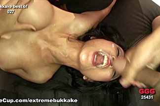 Best pornstar in Horny Facial, Bukkake porn movie