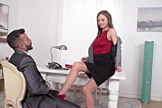 Office girl fucked in the ass
