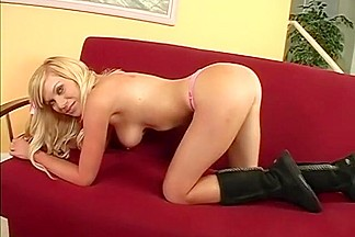 Best pornstar Sasha Sin in horny swallow, blonde adult scene