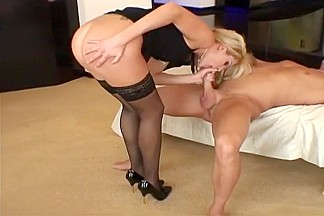 Sexy Blonde Indulges In Shagtastic Sex