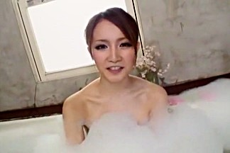 Exotic Japanese model Hotaru Yukino in Crazy Showers, Softcore JAV scene