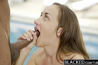 BLACKED Bored Girlfriend Victoria Rae Black Fucks a BBC