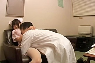 Kinky doctor and his japanese nurse have sex in medical film