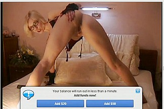 Private erotic webcam show