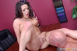 Big Tits at School: Plagiarist Pussy. Charity Bangs, Johnny Sins