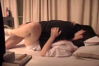 Chubby naughty nurse gets some proper banging in the bed