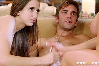 Real Wife Stories: Babysitter Games. Belle Knox, Kendra Lust, Logan Pierce