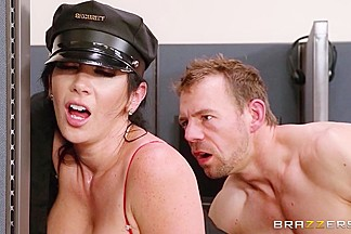 Big Tits In Uniform: Campus Security. Jayden Jaymes, Erik Everhard
