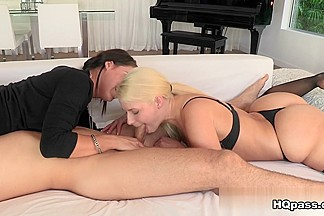Mick Blue, Anikka Albrite, Peta Jensen in Friendly fondling Video