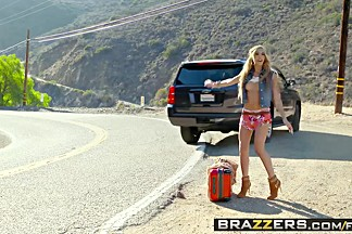 Brazzers Exxtra - Chloe Amour Buddy Hollywood - A Hitchhikers Guide To My Cock