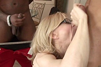 Nina Hartley gets her mouth filled with hard cock