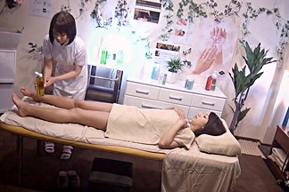Amateur in Lesbian Erotic Beauty Salon 20 part 3