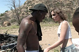 Amber Rayne loves the big black dick