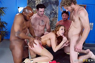 Britney Amber & Charles Dera & Michael Vegas in The Interview: Round 3 - Brazzers