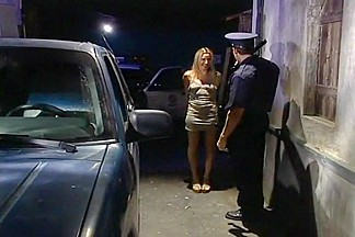 Holly Hollywood Rides Hung Policeman