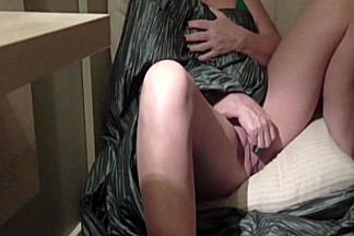 Hidden cam caught MILF masturbating