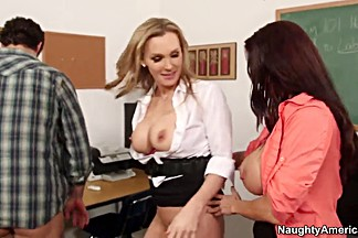 Ava Addams,  Giovanni Francesco,  Tanya Tate have threesome sex