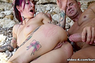 Joanna Angel & Nacho Vidal in Anal Sex On The Beach - BurningAngel