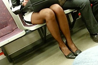 Hot mature in pantyhose with face