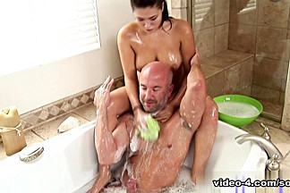 Crazy pornstar London Keyes in Best Blowjob, Big Tits adult video