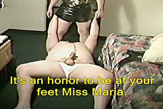 playing with mistress