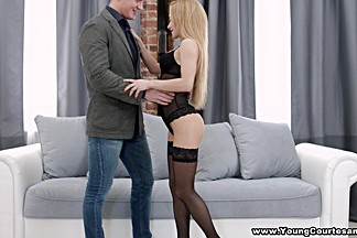 Young Courtesans - Sonya Sweet - Sex date in a boudoir