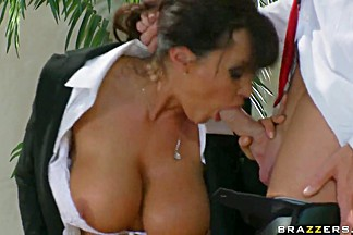 Truly nasty whore Lisa Ann loves to feel Jonny's cock in her butt