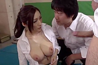 Incredible Japanese girl Julia in Crazy Cumshots, Handjobs JAV scene