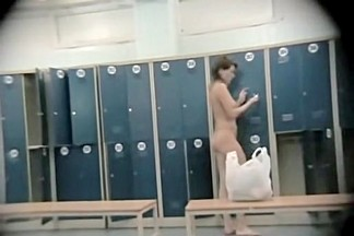 Wonderful asses from the changing room spy cam