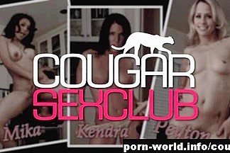 Cougars Mika, Kendra and Peyton Sack The Bag Boy