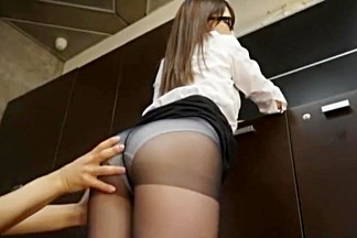Horny Japanese girl Riria Mikoto in Hottest Cumshots, Secretary JAV video