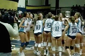 Volleyball Girls Jerk Off Challenge 2