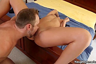 Tiffany Brookes gets screwed by her her boyfriend's son