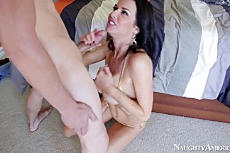 Joey Brass caressed nicely by Veronica Avluv