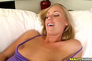 Nicole Aniston cums into the Voodoo's mouth