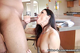 Exotic pornstar India Summer in Incredible Interracial, Brunette adult movie
