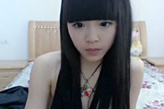 Peep! Live chat Masturbation! In-China Hen fair super cute breasty cutie Part.4