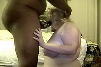 Bulky white cougar is lust for my big darksome 10-Pounder